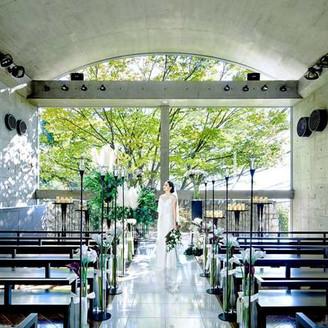 《2019年度兵庫県料理口コミランキング グループ会場でTOP3独占!》 世界的建築家・安藤忠雄氏が設計した洗練のデザイナーズ空間で貸切WEDDING