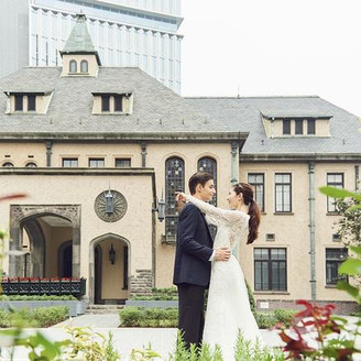 東京都指定有形文化財である洋館でプライベート感たっぷりの邸宅ウェディングを。