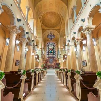 イタリアのサンマルコ寺院より正式に認可を頂いた本物の「大聖堂」 特別な1日を、特別な場所で・・・