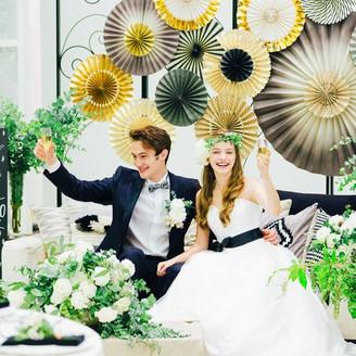 ご祝儀内で出来る結婚式をプロデュース致します。セカイで一番伝えたい気持ちを一緒に創りあげてみませんか? ベルクラシック空港の披露宴会場の写真