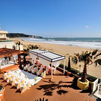 御宿ビーチに佇むリゾートで ホテル全体を貸し切ったウエディングを