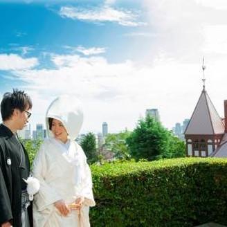 神戸を一望出来る場所での撮影が人気です