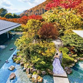 北山を訪れてはじめて知る京の四季。2550平米の邸宅を貸切で叶えるウエディング