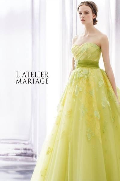 4枚目 ラトリエマリアージュのカラードレス