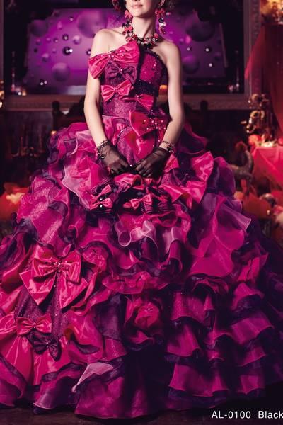 4枚目 AL-0100 Black × Pink