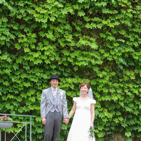 ドレス ウェディングドレス 教会 挙式 ドレス持ち込み ナチュラル イメージ ブーケ 小物持ち込み 兵庫県 神戸