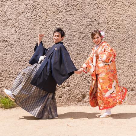 プレーチェ 和装 ロケーション 観光地 大阪城