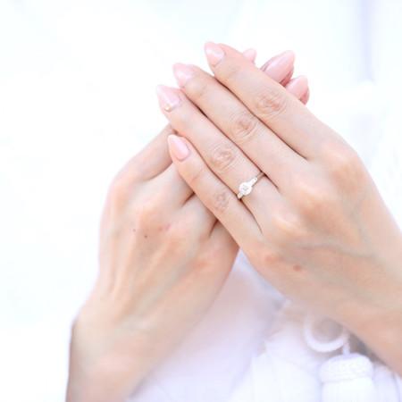 和装 前撮り ロケーション 白無垢 指輪