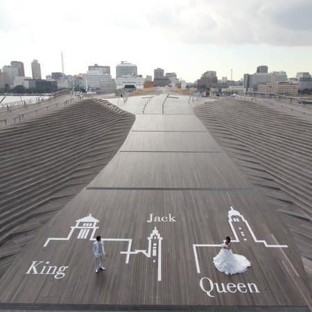横浜大桟橋 ロケーション