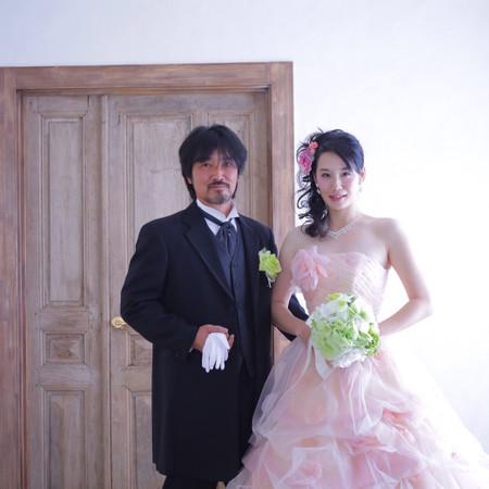 タキシード カラードレス ハウススタジオ ブーケ