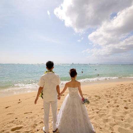 ロケーション ドレス 海 ウェディングドレス
