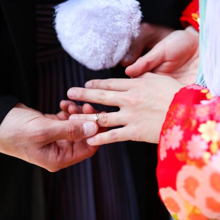 婚約指輪 和装 ロケーション 色打掛 京都 祇園