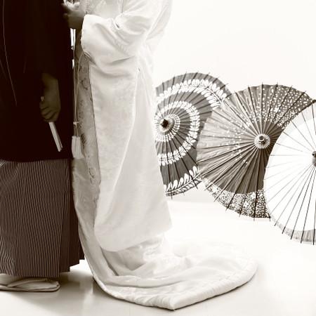和装 スタジオ 紋付袴 白無垢 ドレス