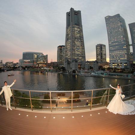 アニヴェルセルみなとみらい横浜 前撮り ヘアメイクリハーサル ウェディングドレス