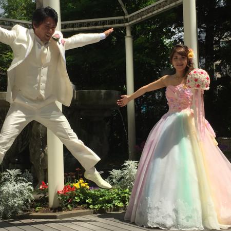 ドレス カラードレス タキシード ロケーション 庭園 和装 白無垢 紋付袴 ウェディングドレス 色打掛 フォトウェディング