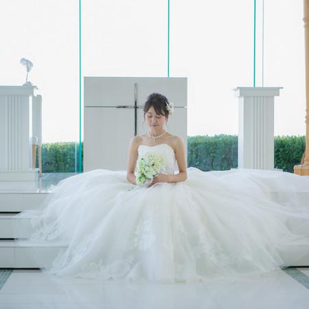 チャペル ドレス ウェディングドレス