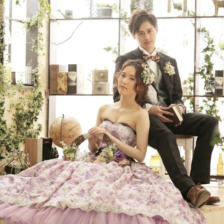 ドレス カラードレス タキシード スタジオ フォトウェディング ハウススタジオ