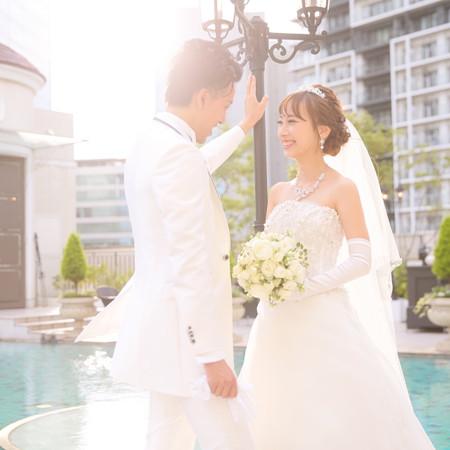 ウェディングドレス タキシード 式場前撮り