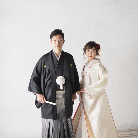 #和装#白無垢#黒紋付袴