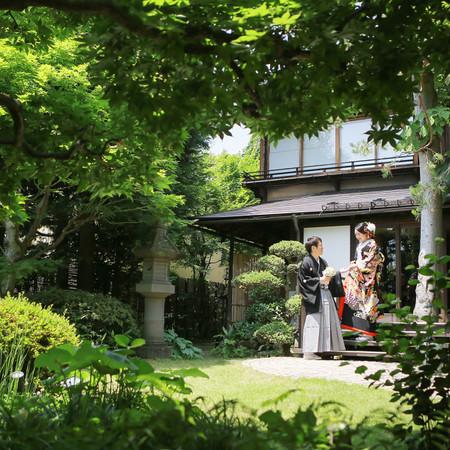 庭園 和装