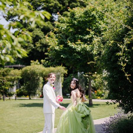 ドレス カラードレス ガーデン