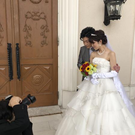 アートグレイス 前撮り ドレス ウェディングドレス カラードレス タキシード ロケーション