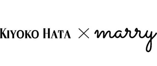 KIYOKO HATA × marry logo