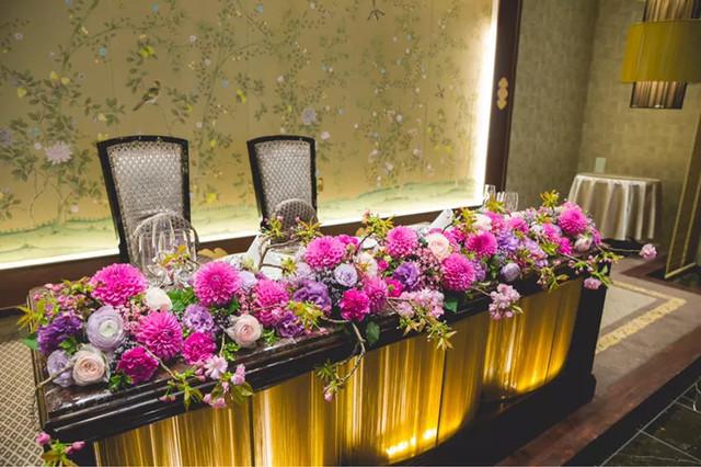 春らしさを詰め込んだ会場装花*大好 , 結婚式準備レポ