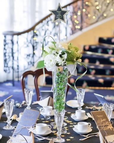 星がテーマのウェディング装花だった , 結婚式準備レポ