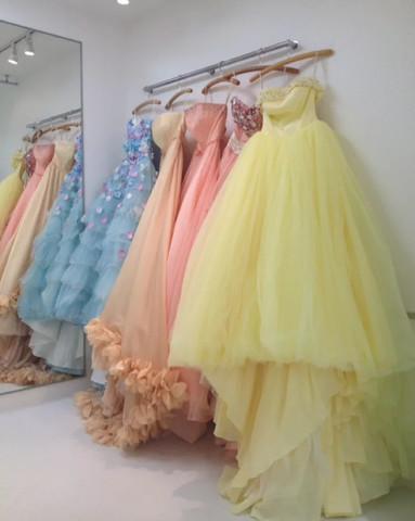 カラードレス、何色にするかとっても , 結婚式準備レポ
