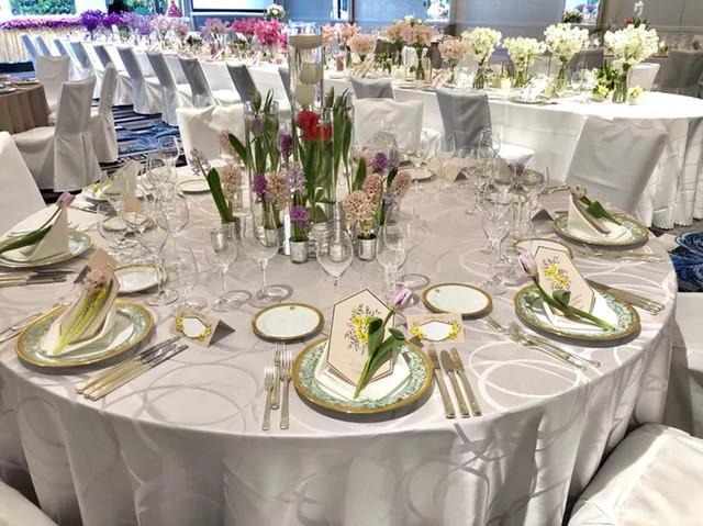 38f1c18427917 結婚式のテーブルコーディネート!《ナプキンアレンジ》でワンランクUP ...