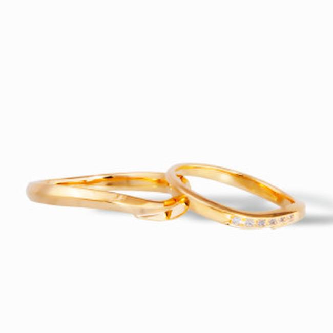 結婚指輪一例