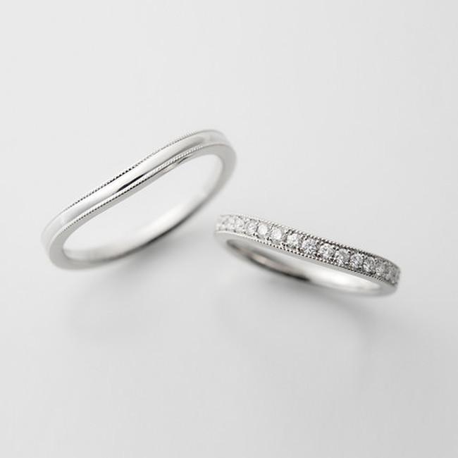 結婚指輪セミオーダー事例
