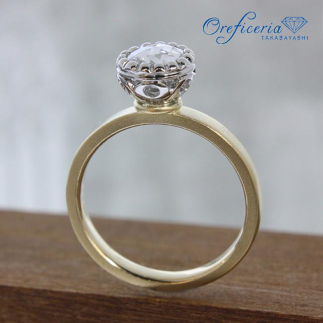 【オーダー実例】ローズカットダイヤモンド