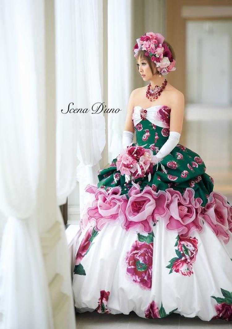 Scena D'uno(神田うのドレス)NO.80321 1枚目