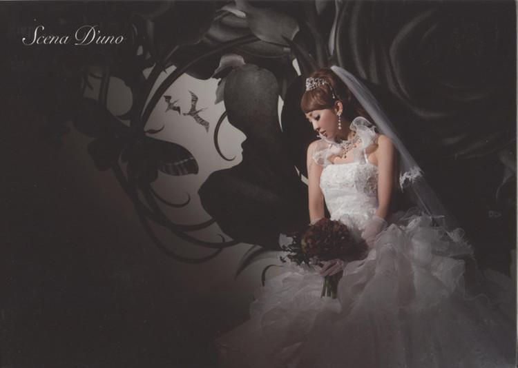 Scena D'uno(神田うのドレス) NO.80296 3枚目