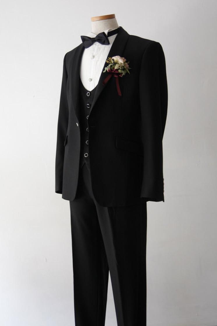 Kairos(カイロス) Short Black Tuxedo 2枚目