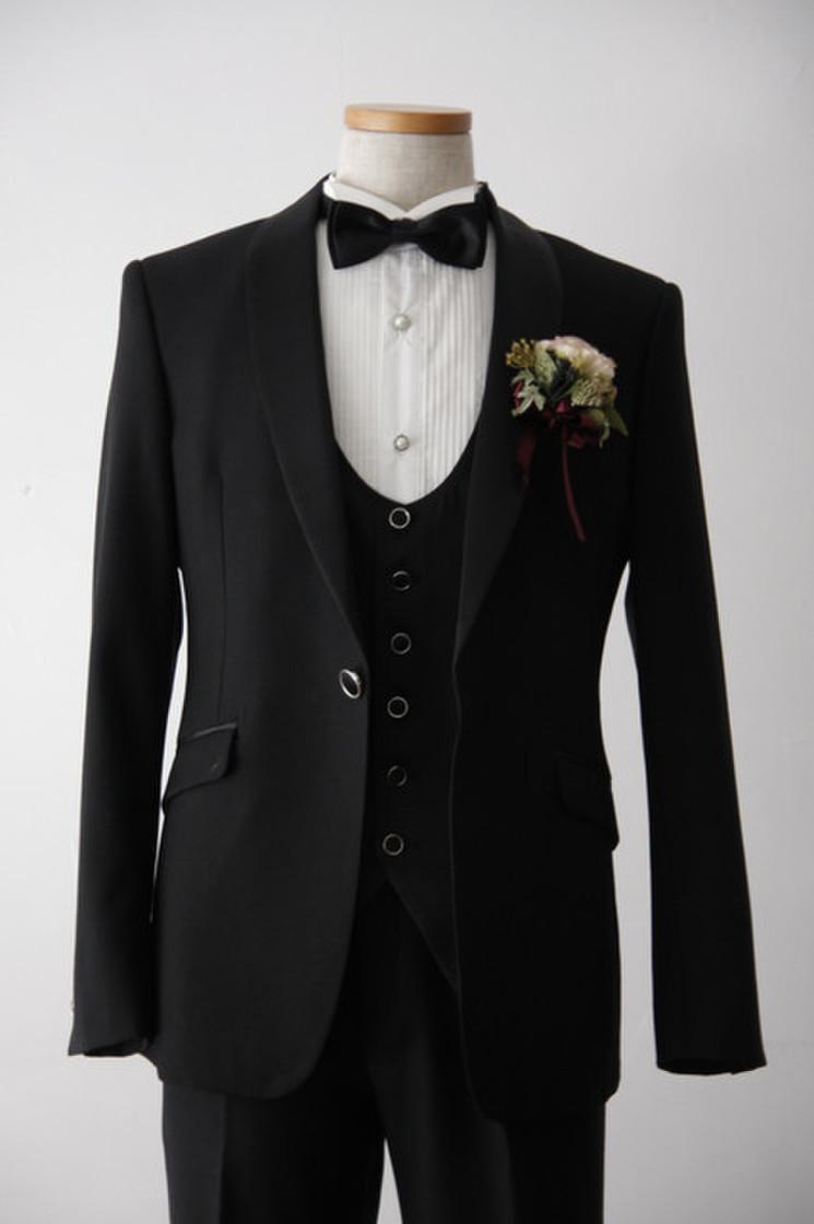 Kairos(カイロス) Short Black Tuxedo 3枚目