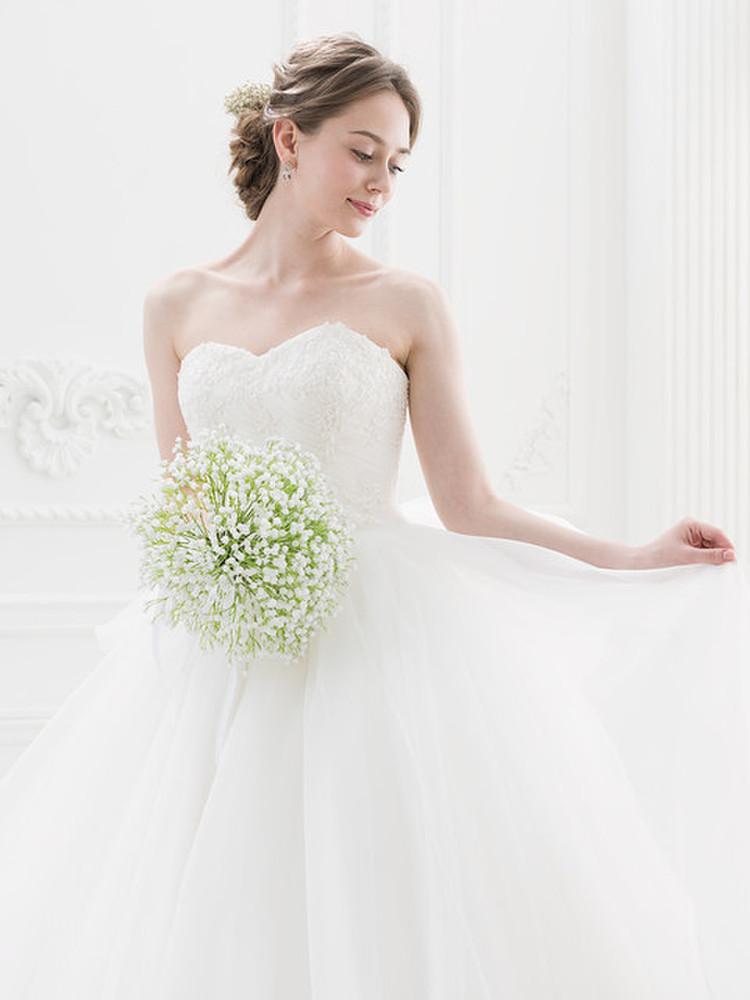 【Cinderella & Co.】ナチュラル&シンプルなふんわりウェディングドレスSS4592 3枚目