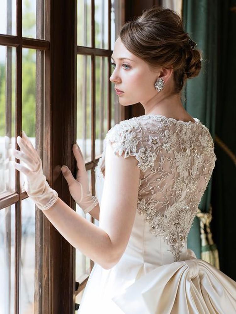【Cinderella & Co.】ビジューレースが豪華な正統派ウェディングドレスSS9645 3枚目