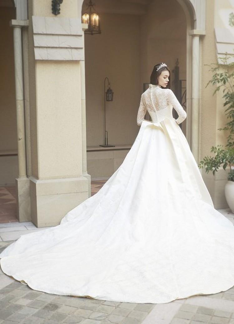 世界の王妃を彷彿させる銀座三越オリジナルドレス【ロイヤルプリンセスシリーズ】 2枚目