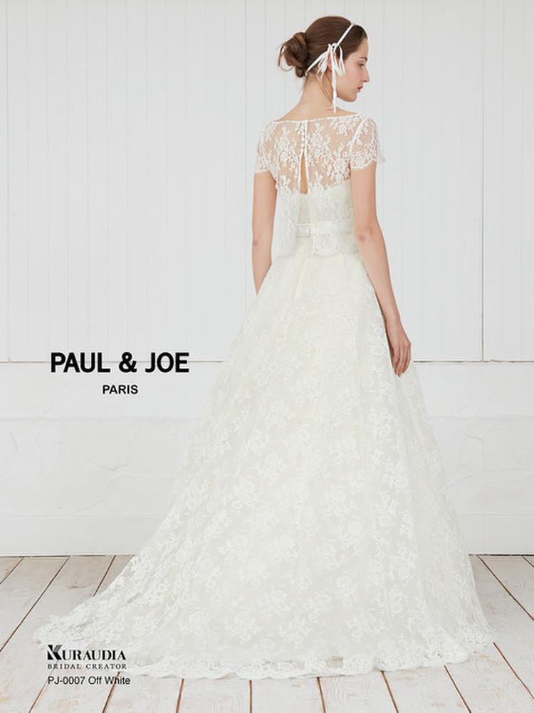 PAUL&JOE(ポール&ジョー)ドレスコレクション PJ-0007 オフホワイト 2枚目