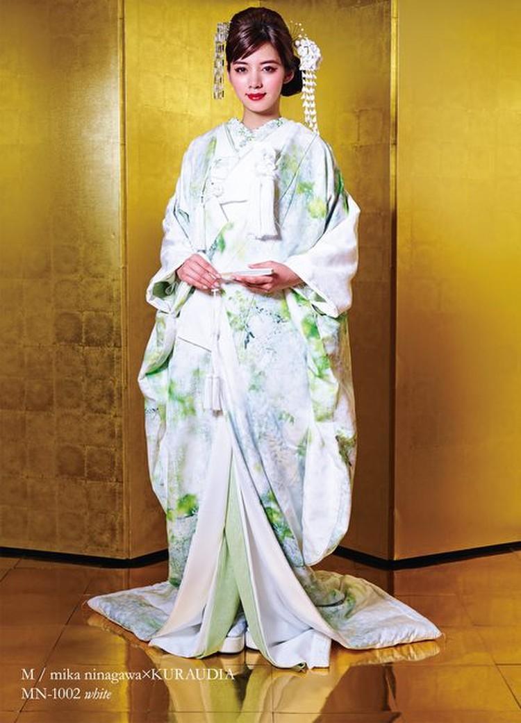 M/mika ninagawa 白無垢 MN-1002 ホワイト 1枚目
