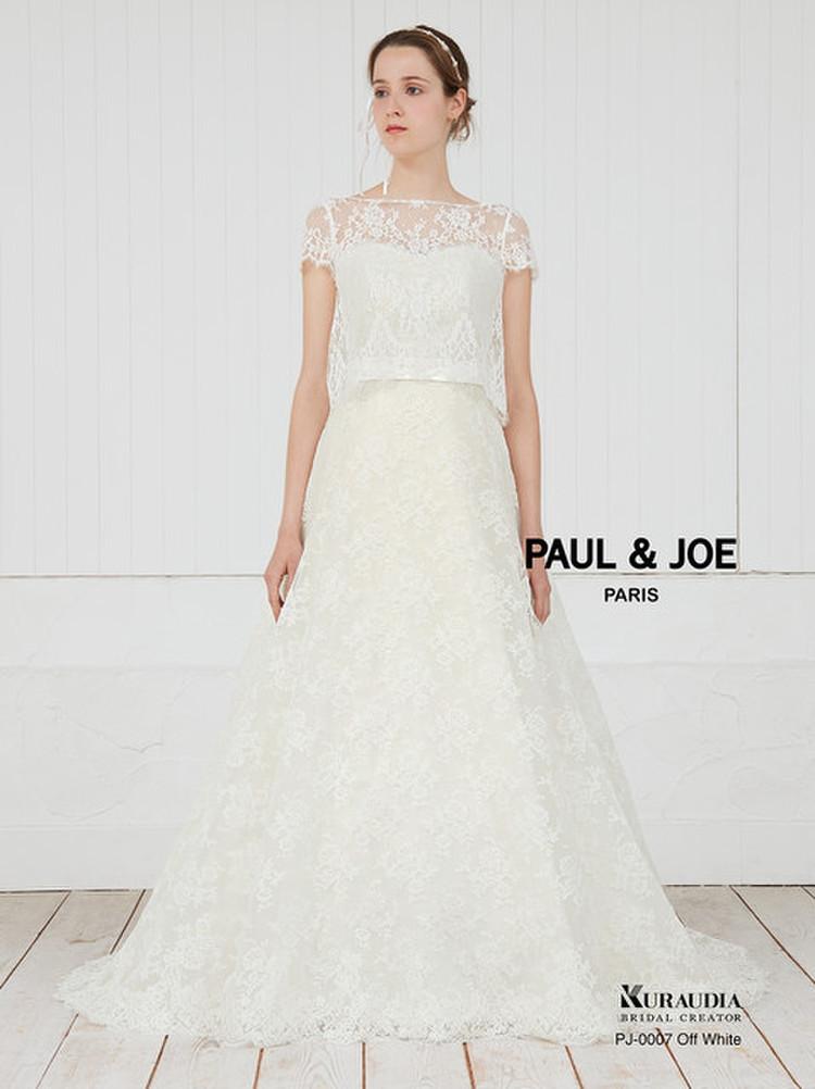 PAUL&JOE(ポール&ジョー)ドレスコレクション PJ-0007 オフホワイト 1枚目