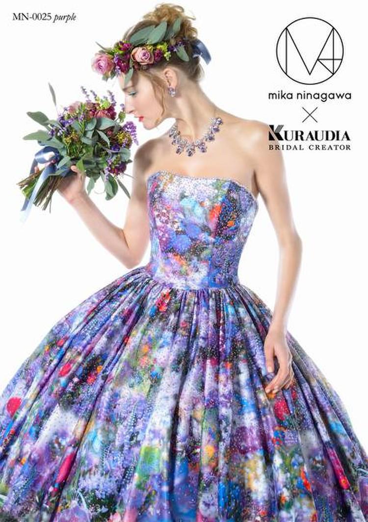 M/mika ninagawa MN-0025 パープル 2枚目