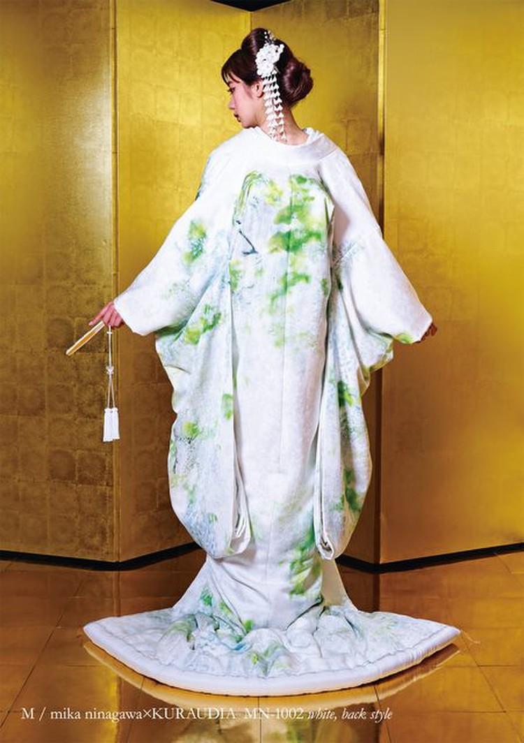 M/mika ninagawa 白無垢 MN-1002 ホワイト 2枚目