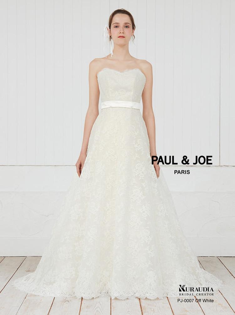 PAUL&JOE(ポール&ジョー)ドレスコレクション PJ-0007 オフホワイト 3枚目