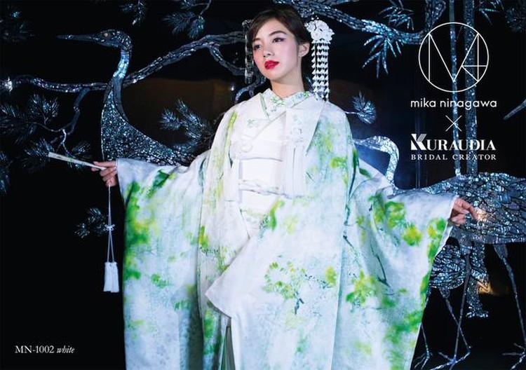 M/mika ninagawa 白無垢 MN-1002 ホワイト 3枚目