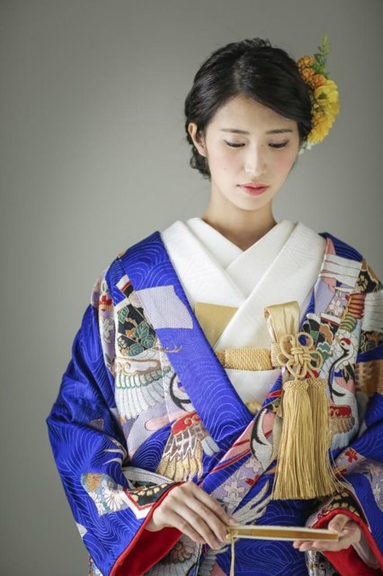 青海熨斗目鶴 3枚目