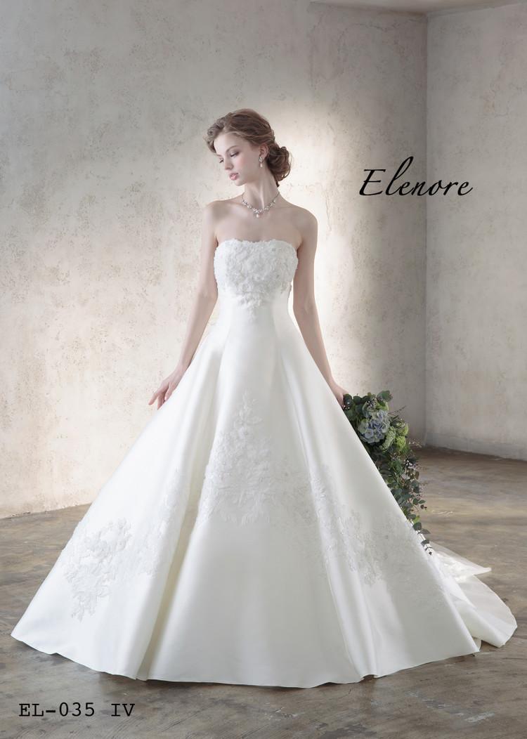 【Elenore】 EL-035 off white 2枚目
